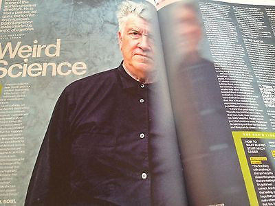 DAVID LYNCH interview RYAN GOSLING UK 1 DAY ISSUE AIDEN GILLEN CHARLIE HUNNAM