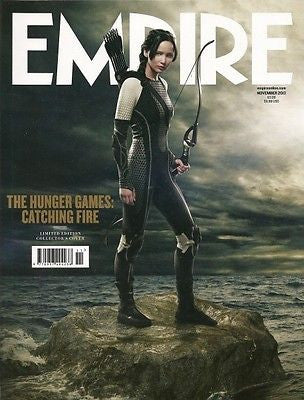 NEW EMPIRE NOVEMBER 2013 JEREMY RENNER CHLOE MORETZ STAR WARS RETURN OF THE JEDI