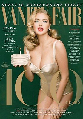 VANITY FAIR MAGAZINE OCTOBER 2013 KATE UPTON MIDDLETON IAN MCKELLEN STEPHEN KING