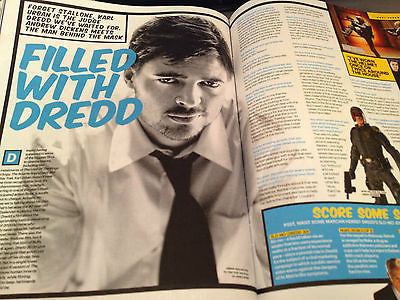 UK Shortlist Magazine 6 September 2012 Brandon Flowers The Killers Karl Urban