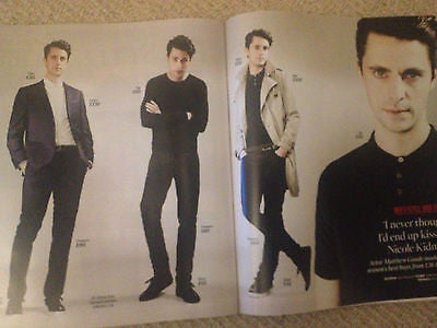UK TIMES Magazine MATTHEW GOODE EDDIE REDMAYNE JAKE BUGG PAUL WELLER GARY BARLOW