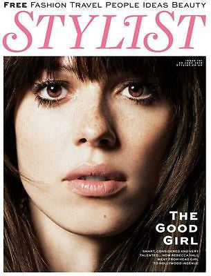 REBECCA HALL BRAND NEW STYLIST UK COVER MAGAZINE - MINT CONDITION