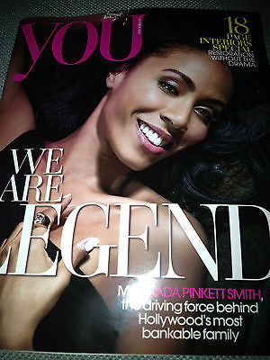 NEW YOU MAGAZINE = Jada Pinkett Smith Mollie King Morena Baccarin Jessica Mauboy