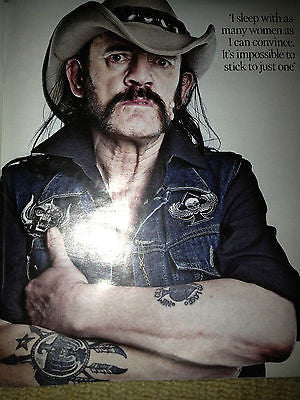 NEW TIMES MAGAZINE = ANNA FRIEL DAVID THEWLIS LEMMY MOTORHEAD ZAHIA DEHAR