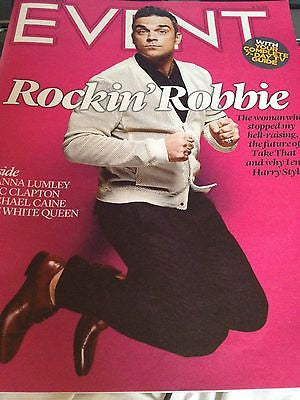 ROBBIE WILLIAMS interview TAKE THAT UK 1 DAY ISSUE NEW ERIC CLAPTON MAN OF STEEL
