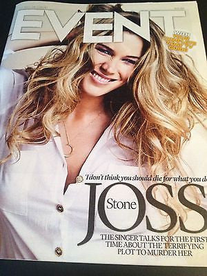 JOSS STONE interview LUKE TREADAWAY BRAND NEW UK ISSUE PAUL WELLER HUGH JACKMAN