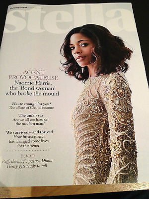 NEW Stella MAGAZINE NAOMIE HARRIS JAMES BOND SKYFALL 007 BOND WOMAN GIRL