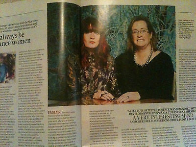 FLORENCE AND THE MACHINE WELCH PHOTO INTERVIEW UK SUNDAY TIMES MAGAZINE 2012