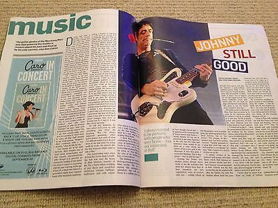 NEW Culture Magazine Sept 2013 Matthew MacFadyen Stephen King Mangan Johnny Marr