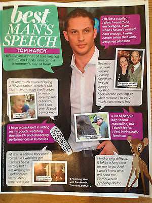 UK BEST Magazine KATE MIDDLETON Tom Hardy Jane McDonald