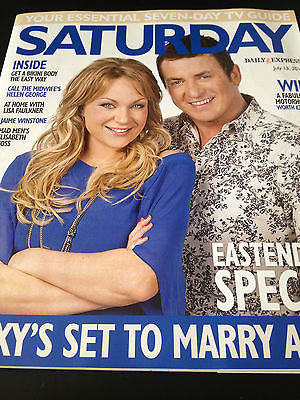 NEW Saturday Magazine RITA SIMONS MELVYN HAYES ELISABETH MOSS ALICE EVE SHEEHAN