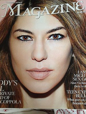 SOFIA COPPOLA interview BLING RING UK 1 DAY ISSUE BRAND KATE MOSS for MATCHLESS