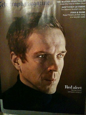 UK Telegraph Magazine February 2012 DAMIAN LEWIS DOLORES O'RIORDAN