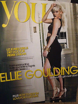 NEW You Magazine. ELLIE GOULDING Laura Michelle Kelly TALI LENNOX Darcey Bussell