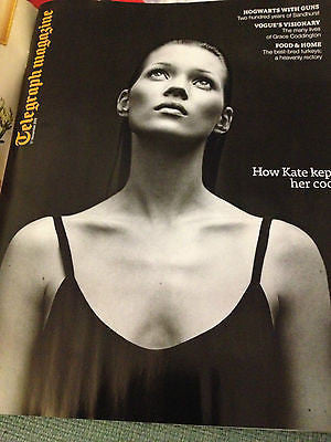 New TELEGRAPH Magazine KATE MOSS Johanna and Klara Soderberg Grace Coddington