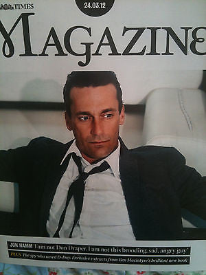 NEW Times Magazine: JON HAMM DON DRAPER HAROLD LLOYD RHYS BLAKELY KATE MIDDLETON