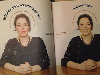 NEW Independent Magazine OLIVIA COLMAN SHIRLEY HUGHES BROADCHURCH