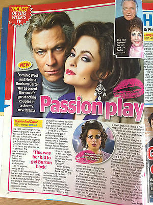 AIDEN GILLEN interview HELENA BONHAM CARTER UK ISSUE ALYSSA MILANO UNA STUBBS