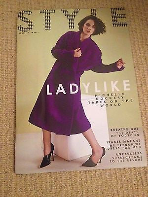 MICHELLE DOCKERY interview DOWNTON ABBEY UK 1 DAY ISSUE SEPT 2013 ISABEL MARANT