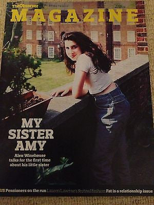 ALEX WINEHOUSE inter/w AMY UK 1 DAY ISSUE BRAND NEW JUNE 2013
