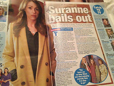 WE LOVE TV MAGAZINE 18.5.2013 SURANNE JONES GILLIAN ANDERSON BONNIE TYLER
