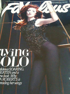 NICOLA ROBERTS GIRLS ALOUD IOAN GRUFFUDD UK FABULOUS Magazine June 2011