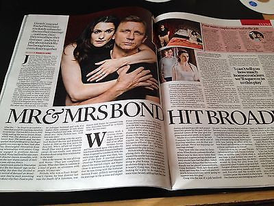DANIEL CRAIG RACHEL WEISZ PHOTO INTERVIEW NEW UK MAGAZINE OCTOBER 2013 - CHER