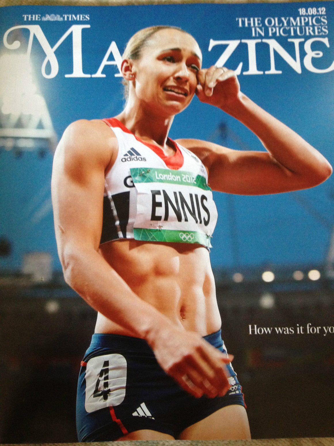 NEW Times Magazine.London 2012 Olympics Pictures.Tom Daley Jessica Ennis 18/8/12