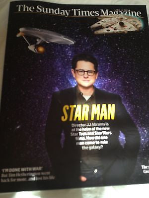 *** NEW UK !! STAR TREK JJ ABRAMS michael buble SASHA GREY tim hetherington ***