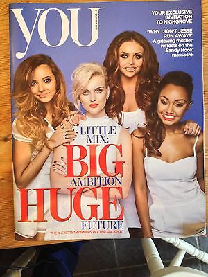 LITTLE MIX interview RUPERT FRIEND UK 1 DAY ISSUE BRAND NEW KATIE CASSIDY DAVID