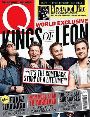 Q Magazine Oct 2013 KINGS OF LEON SUGABABES KRAFTWERK FLEETWOOD MAC BOY GEORGE