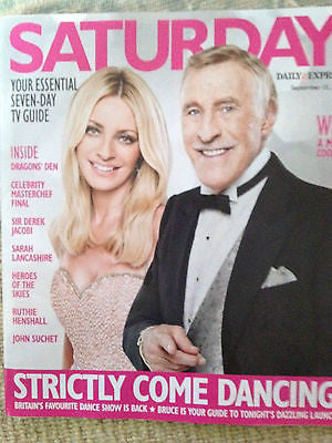 UK Saturday Mag Ruthie Henshall Derek Jacobi Ali Bastian Anne Reid Nicola Walker