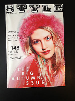 New STYLE Magazine CHARLOTTE FREE THE BIG AUTUMN ISSUE (15 SEPTEMBER 2013)