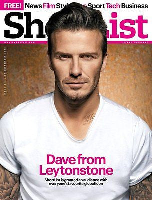 NEW SHORTLIST DAVID BECKHAM JOHN TAYLOR DURAN JOSEPH GORDON LEVITT STEVE Jobs