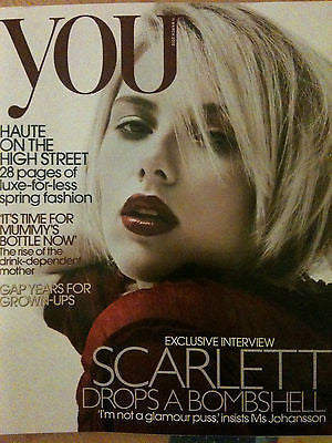 New You Magazine: SCARLETT JOHANSSON Exclusive India Hicks Jackie Clune 2012