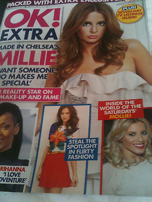 New OK! Mag: MOLLIE KING RIHANNA MILLIE MACKINTOSH ROBSON GREEN PENNY LANCASTER