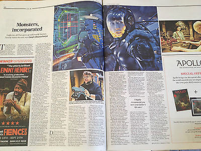 NEW REVIEW JULY 13 ROLLING STONES PET SHOP BOYS HARRY SHEARER GUILLERMO DEL TORO