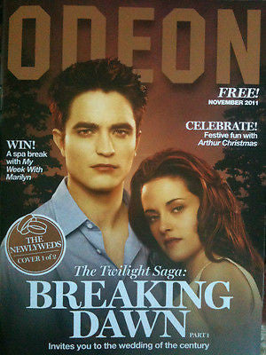 ROBERT PATTINSON TWLIGHT KRISTEN STEWART UK MAGAZINE COLLECTORS EDITION