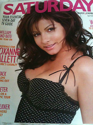 Saturday Magazine April 2012 Roxanne Pallett Emma Crosby Michael Buble