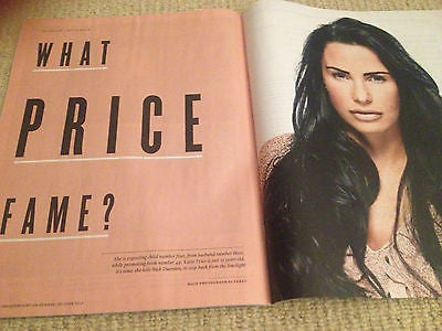 KATIE PRICE interview JORDAN UK 1 DAY ISSUE ROLAND GIFT LUCY BEAUMONT MADONNA