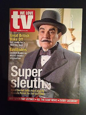 DAVID SUCHET Poirot PHOTO INTERVIEW MAGAZINE 2013 Jonny Lee Miller Jasmyn Banks