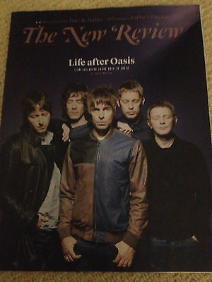 NEW REVIEW MAGAZINE 09.06.2013 LIAM GALLAGHER BEADY EYE ANNA FRIEL VINCE POWER