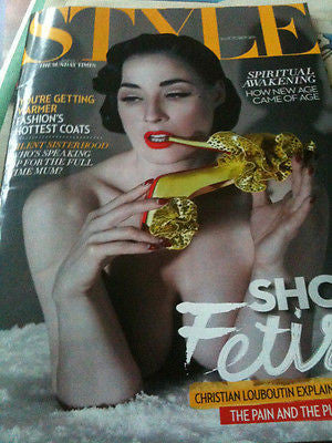 UK Style Magazine October 2011 Dita Von Teese Kate Bosworth Camilla Rutherford