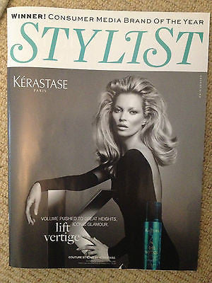 STYLIST MAGAZINE MAY 2013 KATE MOSS GRACE CODDINGTON LEONA LEWIS RAF SIMONS