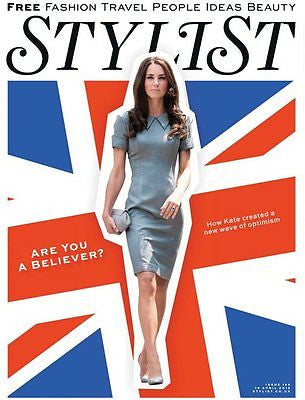 Kate Middleton Catherine Duchess of Cambridge UK Stylist Magazine April 2012