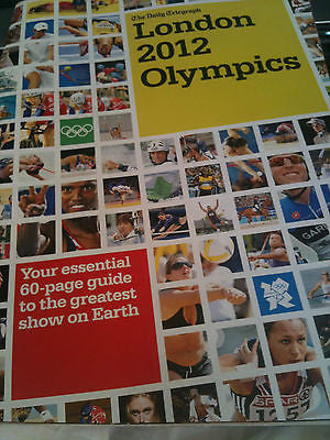 LONDON OLYMPICS 2012 ESSENTIAL 60 PG MAGAZINE TOM DALEY JESSICA ENNIS CHRIS HOY