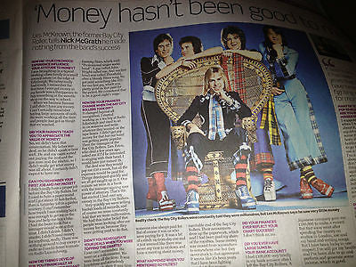 Telegraph Money Oct 7 2012 Les McKeown Bay City Rollers interview