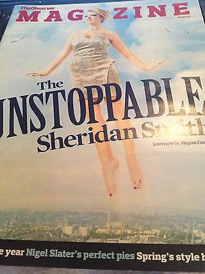 NEW Observer Magazine SHERIDAN SMITH TAMARA ROJO ANGELA SCANLON