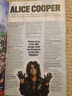 Guardian Guide Festivals 2013 ALICE COOPER Trent Reznor NIN Flaming Lips THE XX