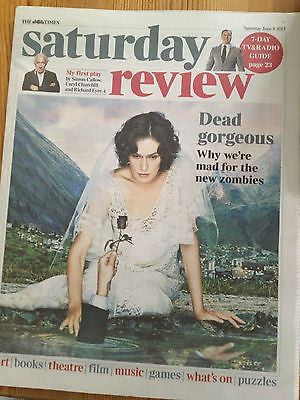 TIMES SATURDAY REVIEW JUNE 8 2013 THE RETURNED AGNETHA FALTSKOG ABBA THE EAGLES